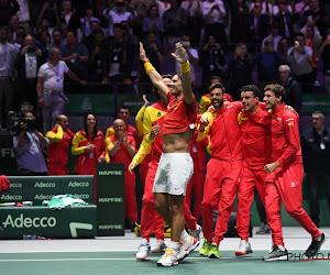 Rafael Nadal schenkt Spanje na intense wedstrijd voor eigen publiek de Davis Cup