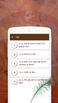 Bhagavad Gita In Hindi - screenshot