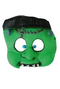 Barnmask Grön Monster