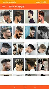 Men hairstyle - náhled