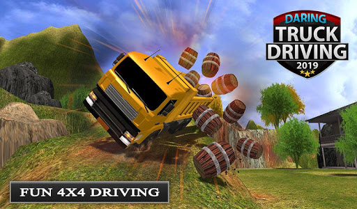 Offroad Transport Truck Driving - Jeep Driver 2019  screenshots 11