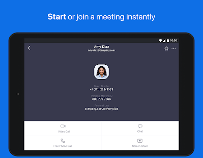 Download Android App ZOOM Cloud Meetings for Samsung
