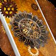 Steampunk Clock Live Wallpaper icon