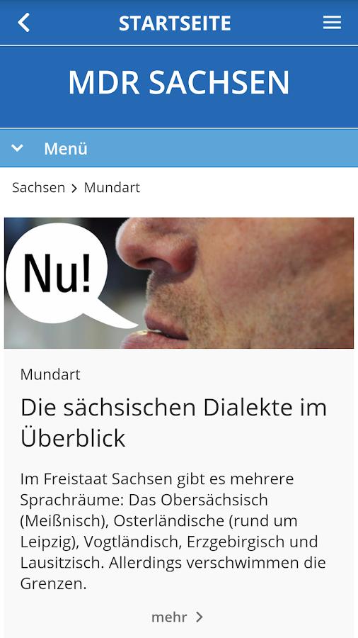 Mdr Sachsen App