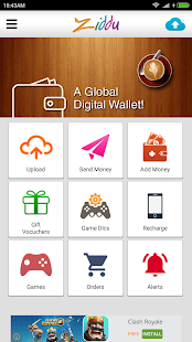 Ziddu- A Global Digital Wallet- screenshot thumbnail