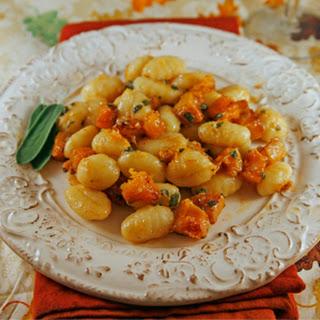 Roasted Butternut Squash and Sage Gnocchi