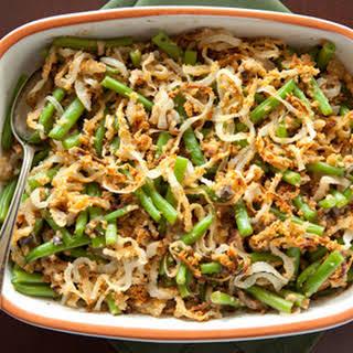 Thanksgiving Green Bean Casserole.