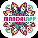 Coloring Book Game Mandalapp icon