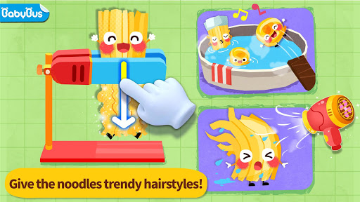 Baby Panda's Food Party Dress Up screenshots 1