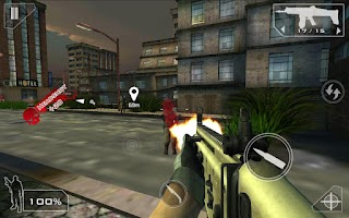 Screenshot of Green Force: Zombies HD