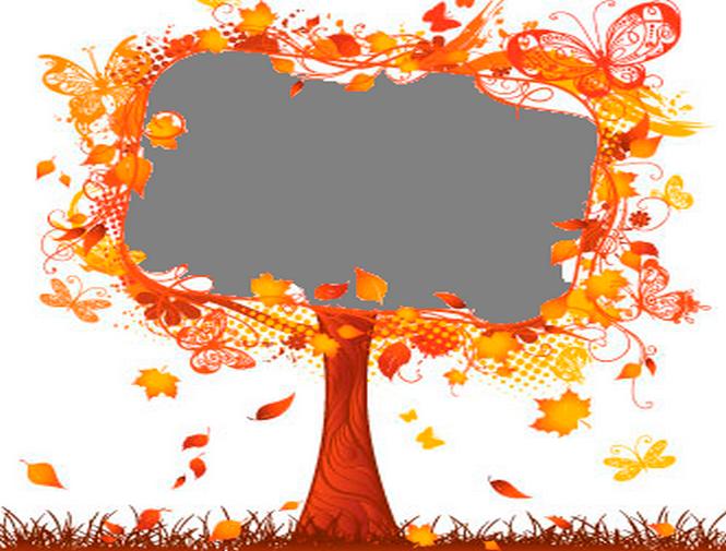 Autumn Leaves Photo Frames