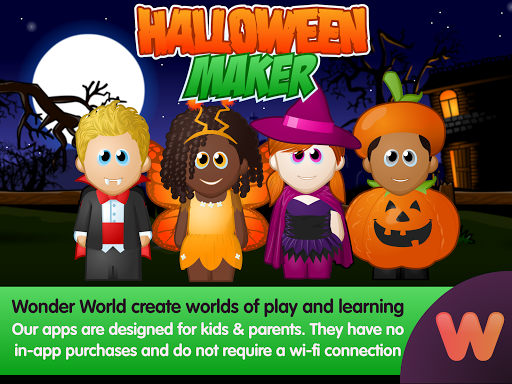 WeeMee Halloween Maker 1.0 screenshots 5