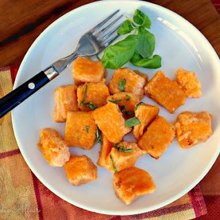 Homemade Sweet Potato Gnocchi