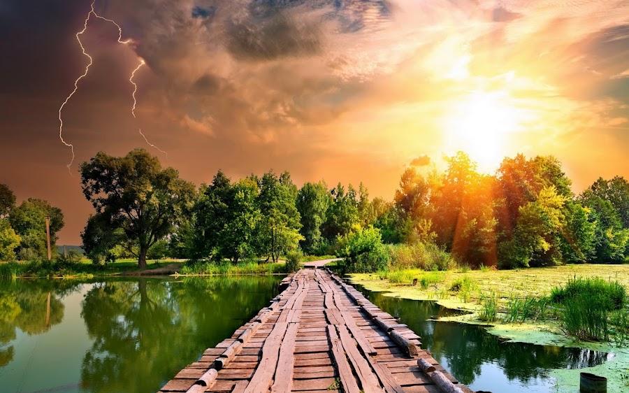 Amazing weather by Arkendu Pal - Landscapes Weather