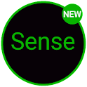 Sense Black/Green cm13 theme icon