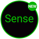 Sense Black/Green cm13 theme v1.02