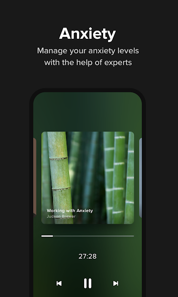 Insight Timer app on mobile phone