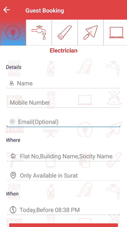 Surat Home Services- screenshot