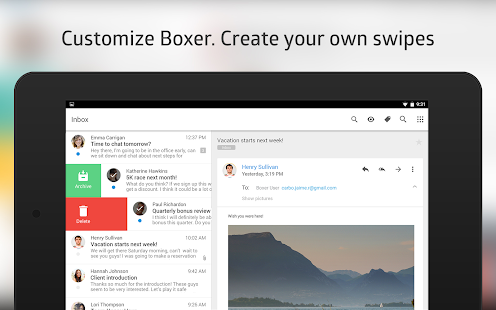 Boxer - Free Email Inbox App Screenshot 14