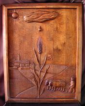 Photo: Tamaño: 95 x 74 cm. || Talla en madera. Woodcarving.   Puedes conocer más de este artista en el blog: http://tallaenmadera-woodcarving-esculturas.blogspot.com/