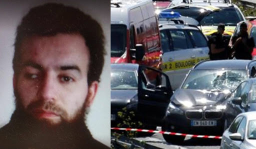 Spectacular car chase and terrorist arrest in France