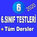 6.Sınıf Testleri Tüm Dersler icon