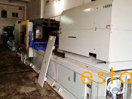 JSW J550ELIII-1400 (2006) All Electric Plastic Injection Moulding Machine