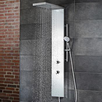 shower_Duschpaneel Lavida Plus weiss