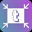 TinyPhoto: Convert (JPEG PNG), Crop, Resize icon