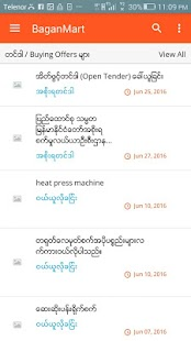 BaganMart Myanmar Marketplace- screenshot thumbnail