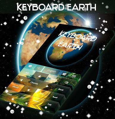 Earth HD For GO Keyboard - screenshot