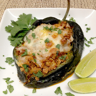 Chorizo Stuffed Poblano Peppers – Keto and Low Carb Recipe