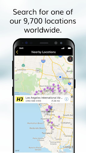 Hertz Car Rental screenshot