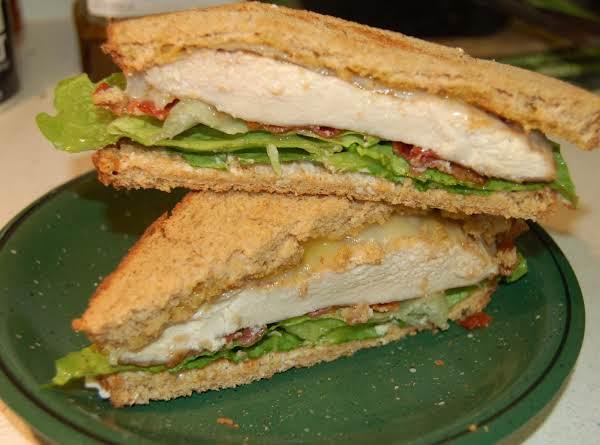 Grilled Maple Chicken Sandwich