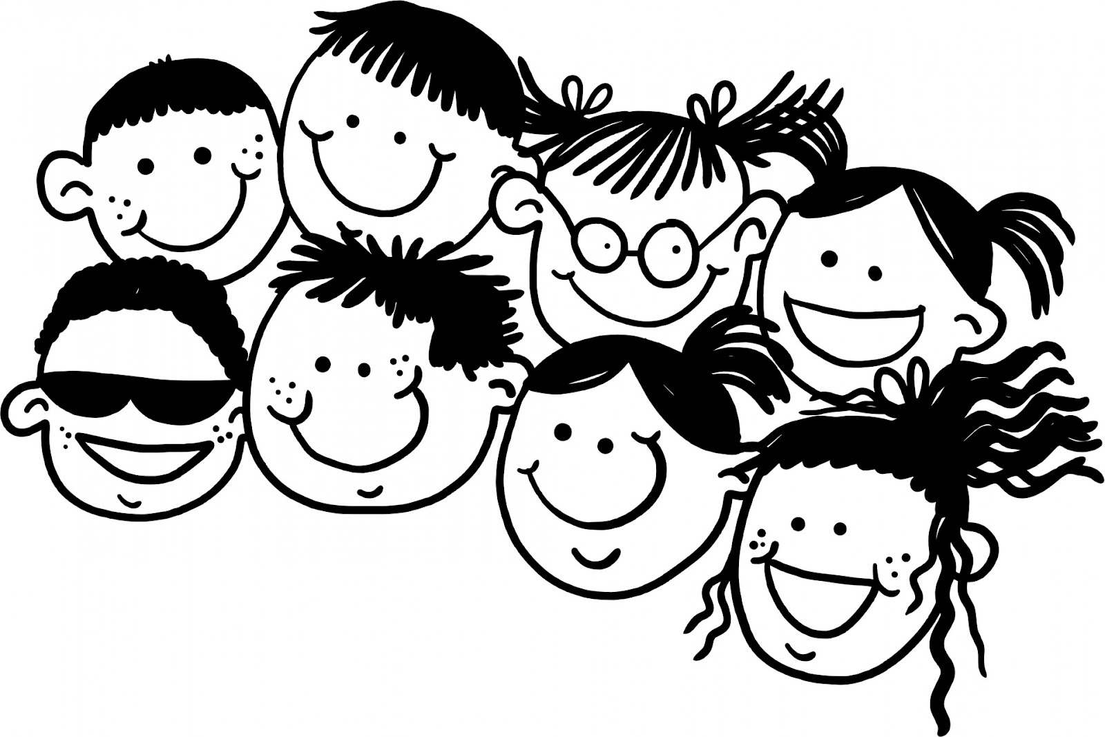 Doodle Kids Free Stock Photo - Public Domain Pictures