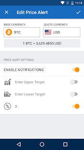 Bitcoin Price IQ - Crypto Price Alerts & News - náhled