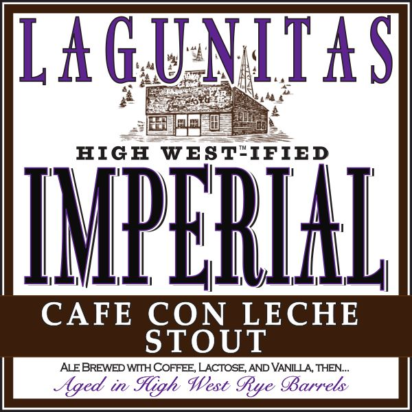 Logo of Lagunitas High West-Ified Imperial Cafe Con Leche Stout