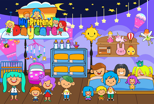 My Pretend Daycare - Kids Babysitter Games FREE App (APK) scaricare gratis per Android/PC/Windows screenshot