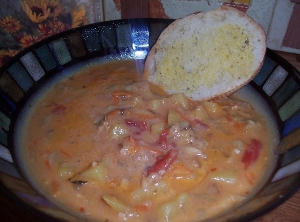 Pressure Cooker Manhattan Clam Chowder Recipe