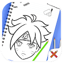 Comment dessiner naruto ✍ icon