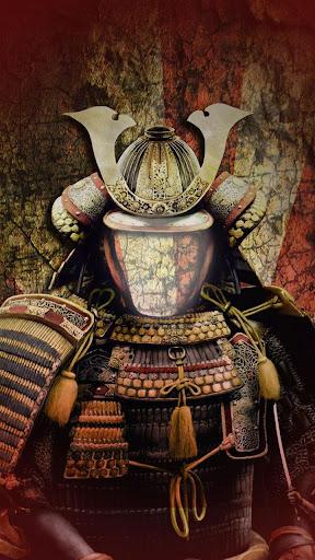 武士の鎧フォトモンタージュ