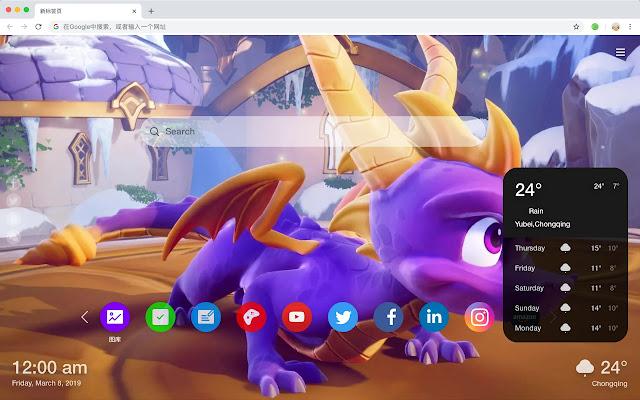 Spyro Reignited HD  New Tabs Themes