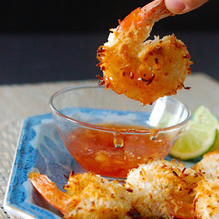 Baked Coconut Shrimp with Spicy Lemon Raspberry Sauce Recipe