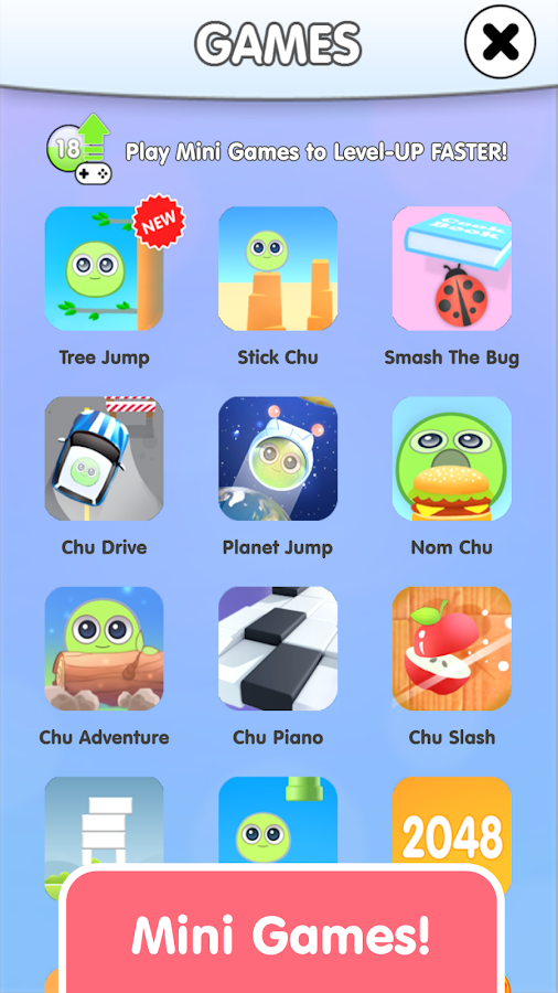 My Chu - Virtual Pet- screenshot