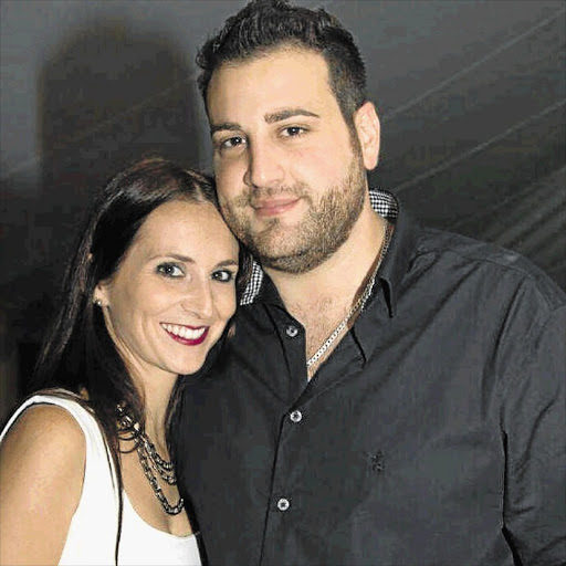 Jayde and Christopher Panayiotou in happier times. File photo.