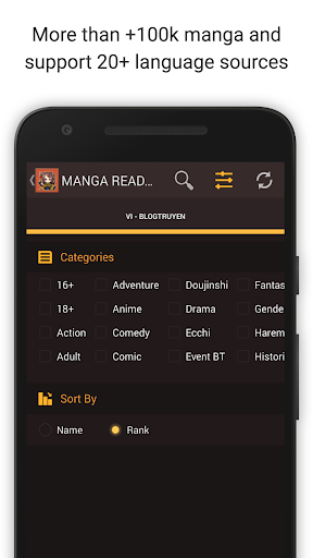 Mangaa Reader Screenshot