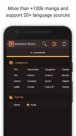 Mangaa Reader Screenshot