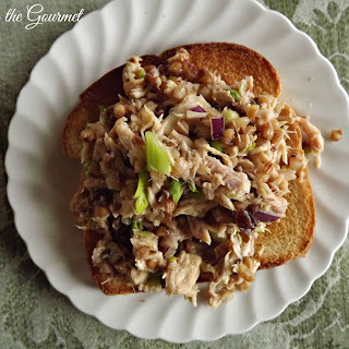Tuna Salad w/ Buckwheat & Raisins