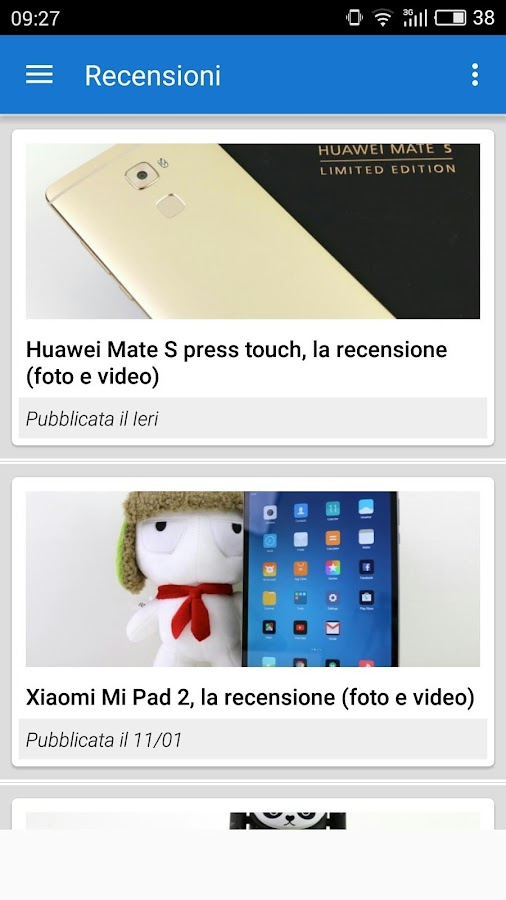 AW - Le News di AndroidWorld- screenshot