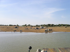 Photo: przeprawa promowa do Djenne